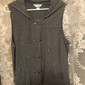 Button up vest